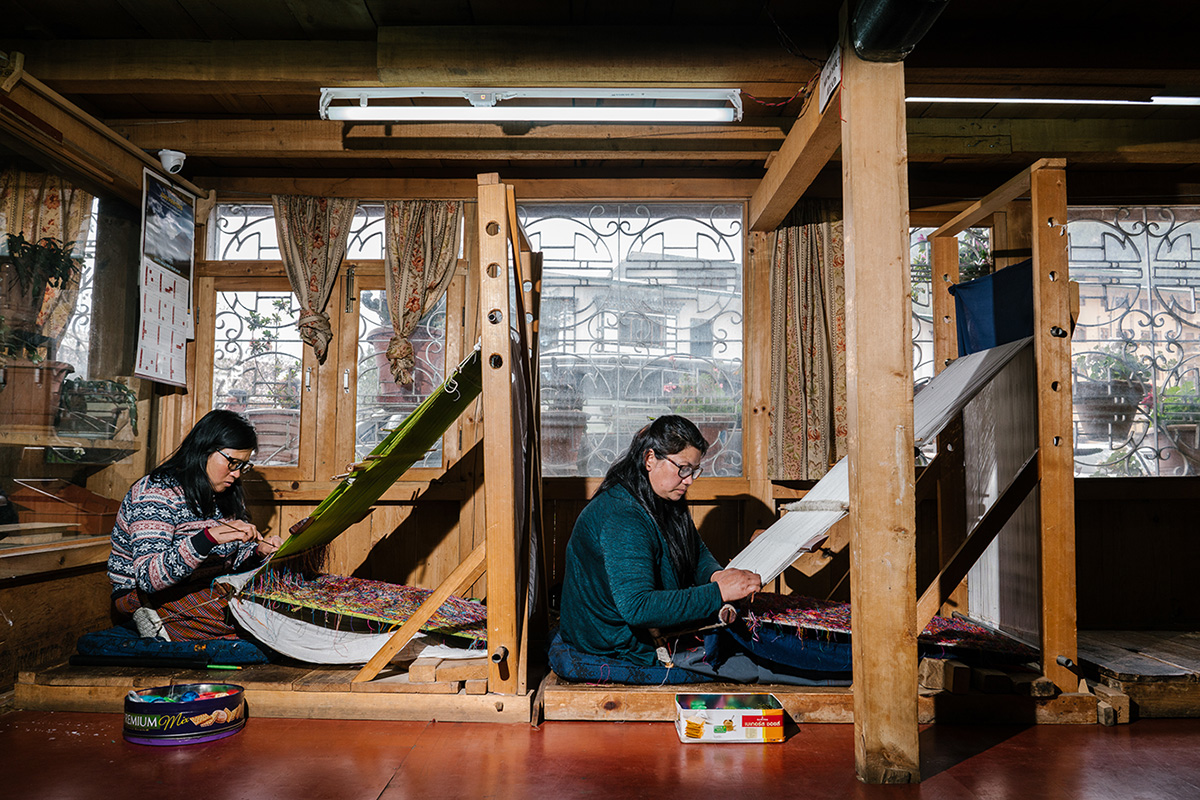 Sustaining Traditional Weaving in Bhutan