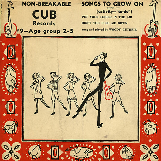 <i>Songs to Grow On</i> from Cub Records, part of the Moses and Frances Asch Collection. Ralph Rinzler Folklife Archives