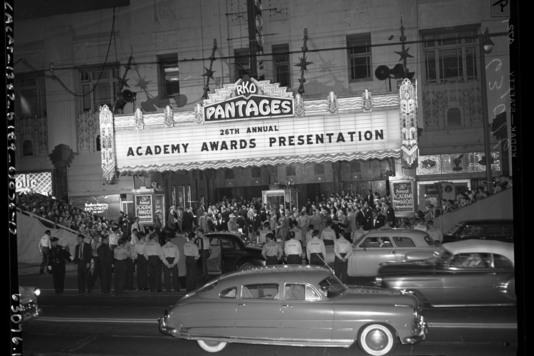 The 1954 Academy Awards at the Pantages Theatre in Hollywood