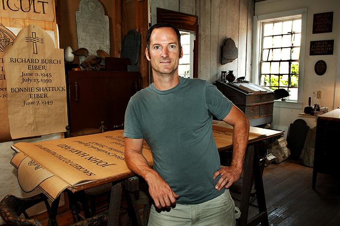 Written in Stone: Master Stone Carver and Letterer Nick Benson