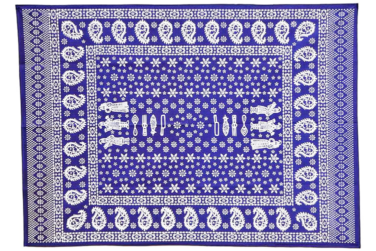 The Blue Tablecloths of Georgia: New Life of an Old Tradition