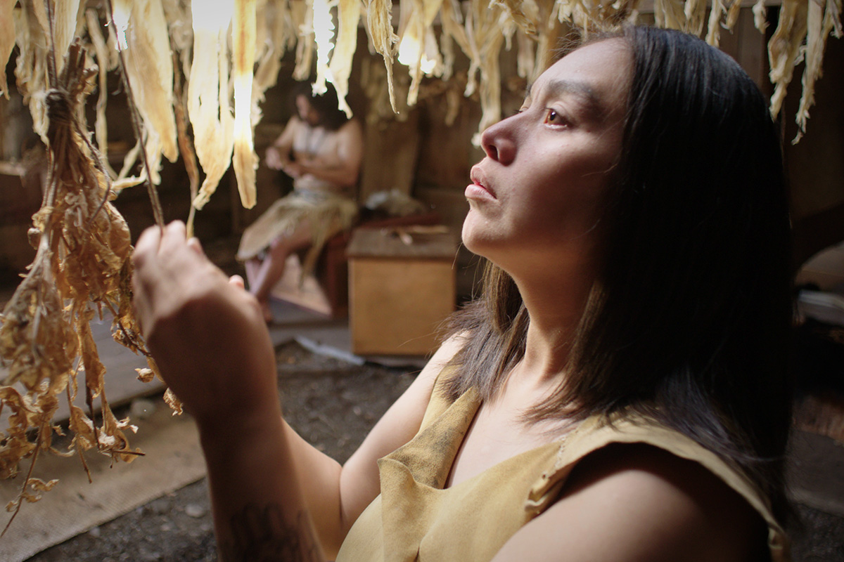 SGaawaay K'uuna (Edge of the Knife). Directed by Gwaai Edenshaw (Haida) and Helen Haig-Brown (Tsilhqot'in)