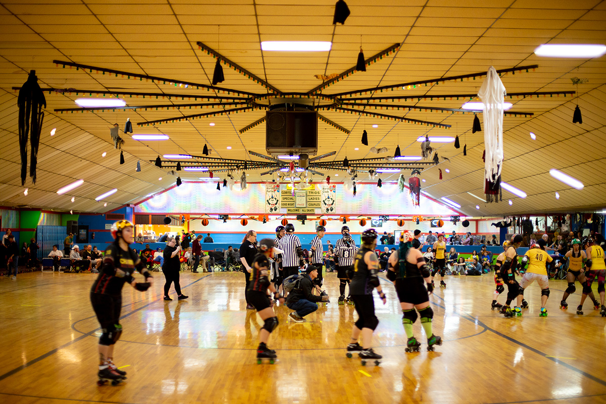Charm City Roller Derby. Photo by Xueying Chang