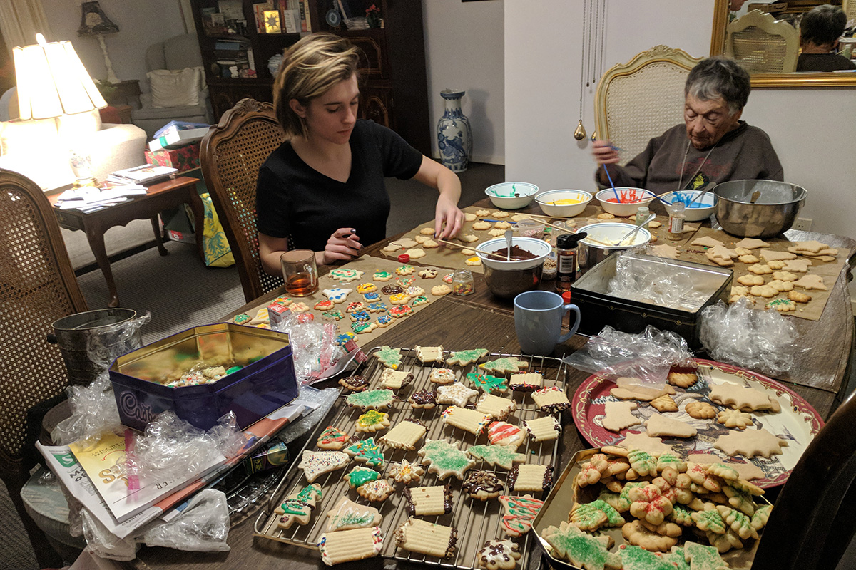 Adventures in Three Generations of Christmas Cookie Decorating