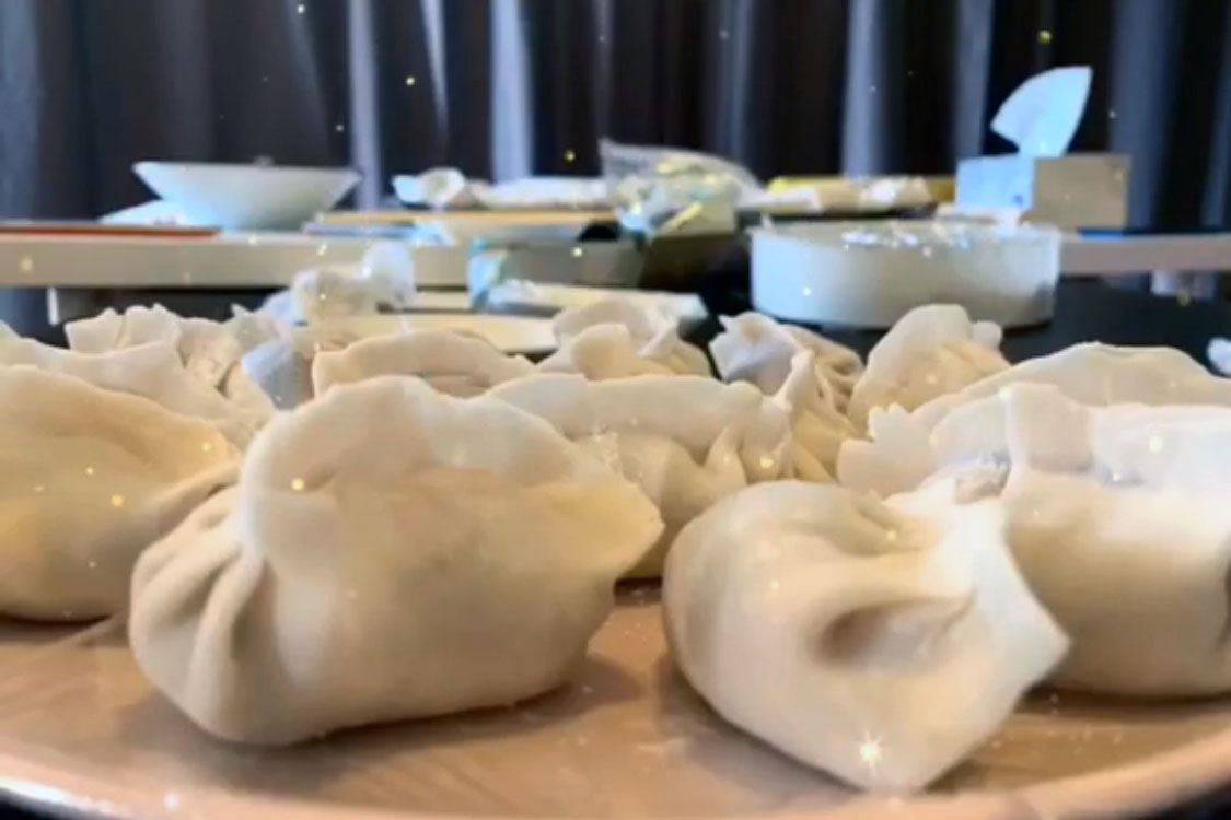 Homemade dumpling for the Lunar New Year <br><br><i>Photo by YingYing Yang</i>