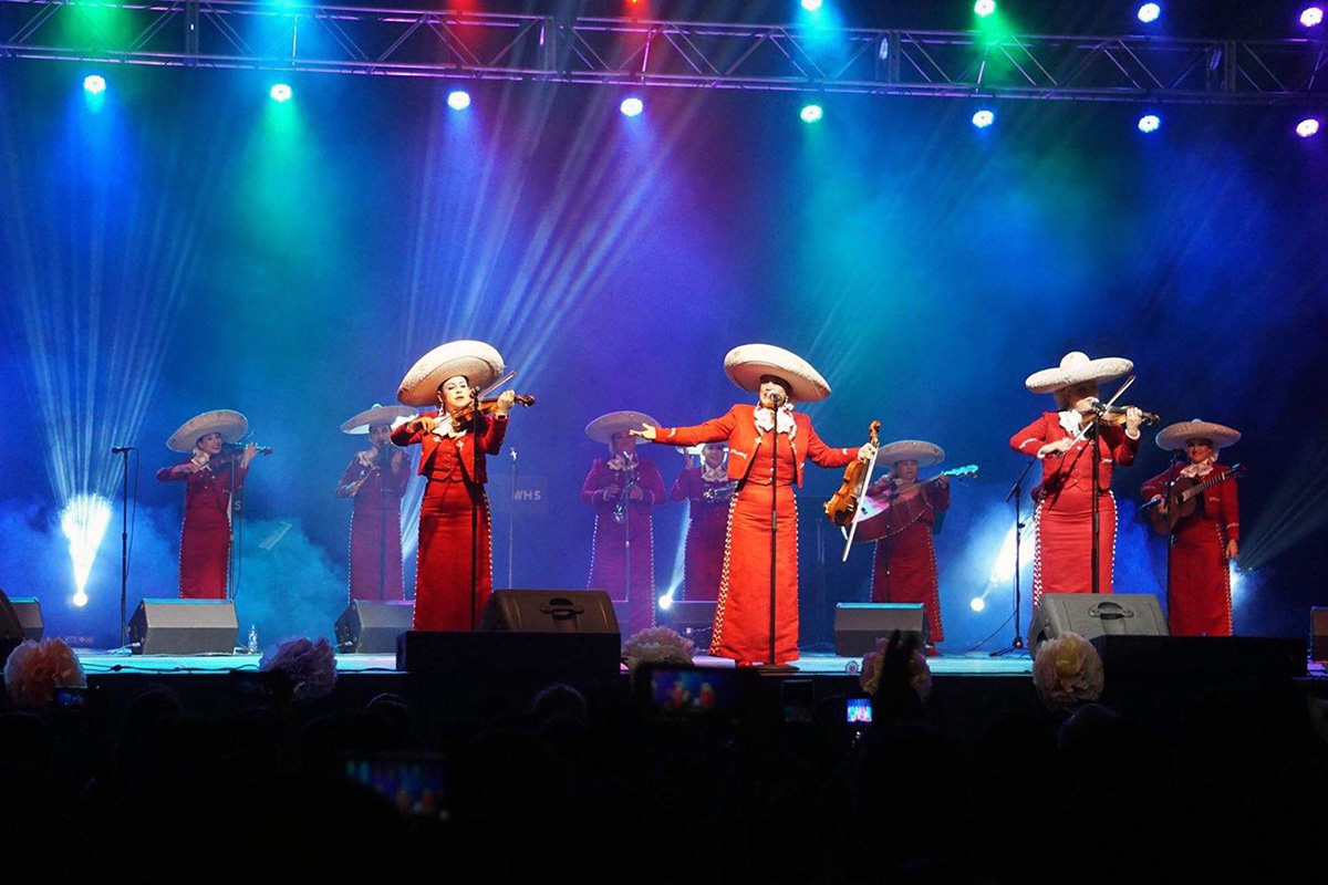 Photo courtesy of Mariachi Reyna de Los Angeles