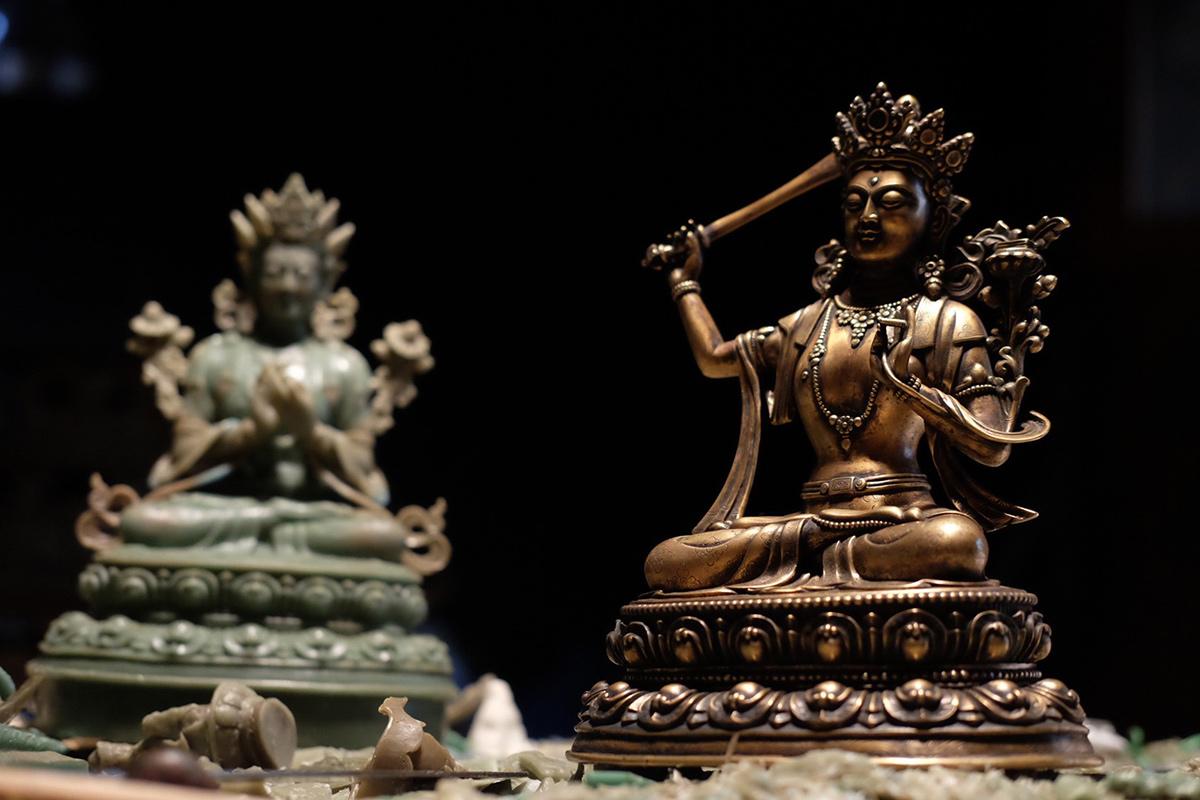 Sculpting the Sacred: Tibetan Bronze Work