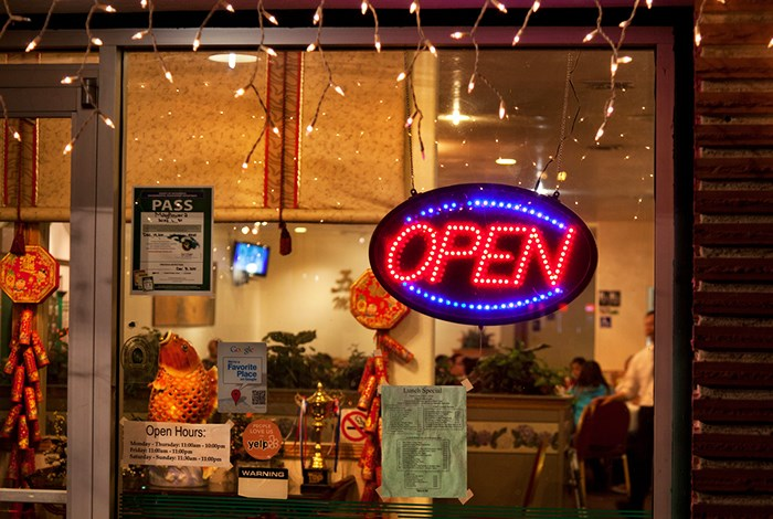 a chinese restaurant in sacramento california stays open on christmas photo by robert - Chinese Open On Christmas
