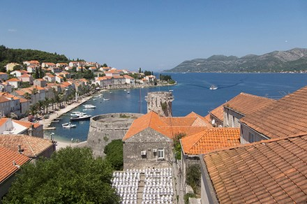 Korčula Town, Croatia. Photo by Stephanie Smith
