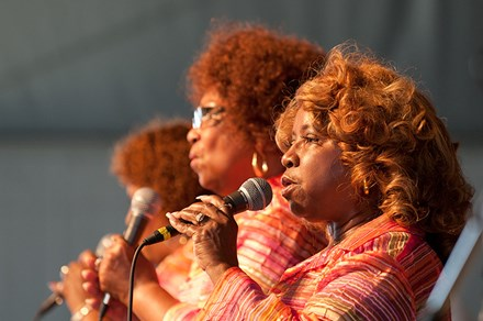 The Dixie Cups at the 2011 Folklife Festival. Photo by Walter Larrimore, Ralph Rinzler Folklife Archives