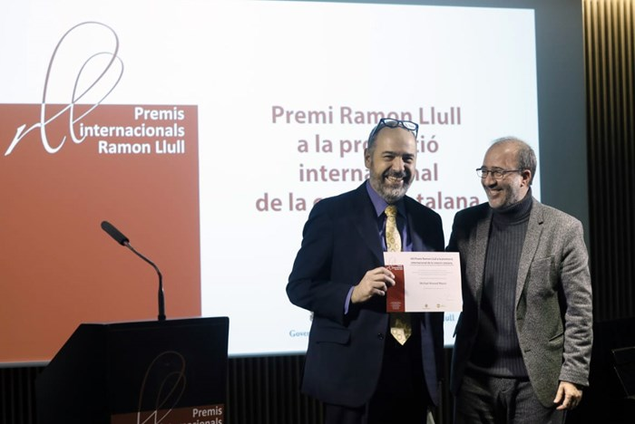 Folklife Director Honored with International Prize for the Promotion of Catalan Culture