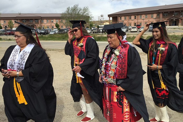 Graduating in the Navajo Way