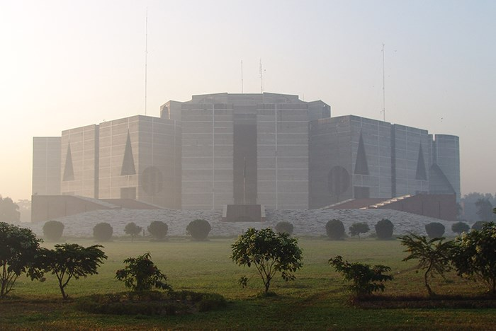 The Father, the Son, and an Almost Holy Architectural Masterpiece in Bangladesh