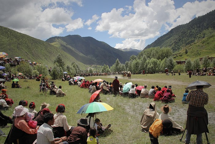 Rifles and Rituals: Tibetan Horseback Shooting