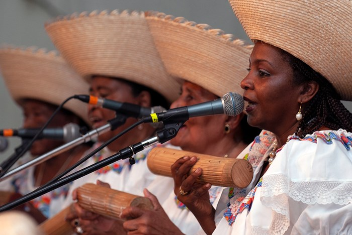 """We Shelter in Songs"": <br>Women <i>Marimberas</i> of Colombia and Ecuador"