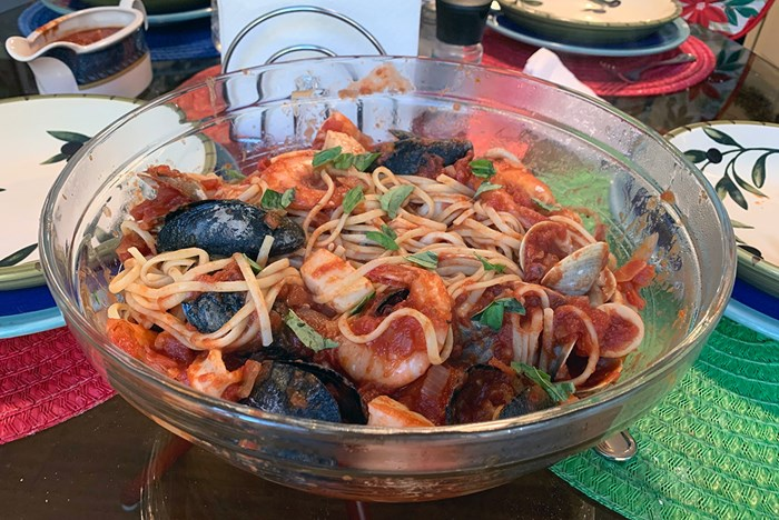A Devilish Dish for an Italian American Christmas: <i>Fra Diavolo</i>