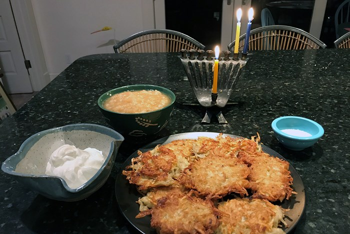 Lights, Family, Latkes: A Hanukkah Recipe