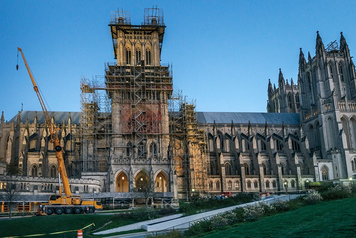 Restoring a National Treasure, Stone by Stone