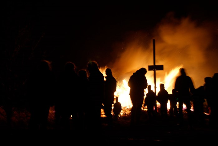Winter Ends with a Bonfire: Culture and Community in North Frisia