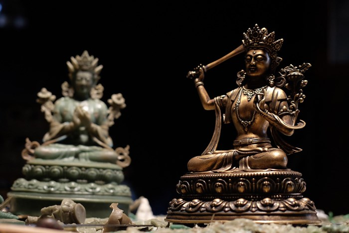 Sculpting the Sacred: Tibetan Bronze Work