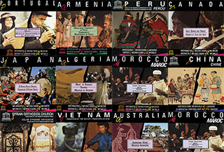UNESCO Collection of Traditional Music of the World records
