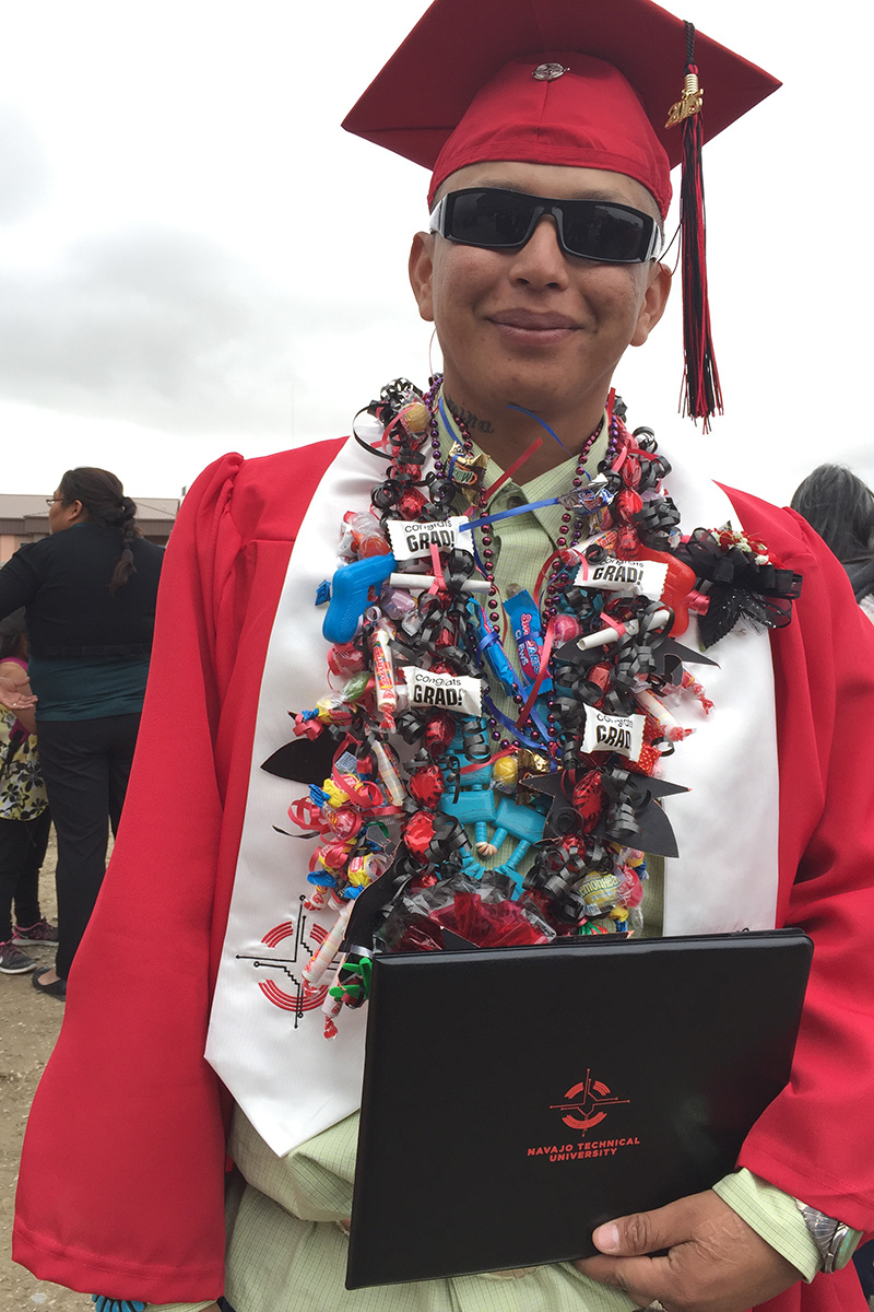 Navajo Technical University graduation
