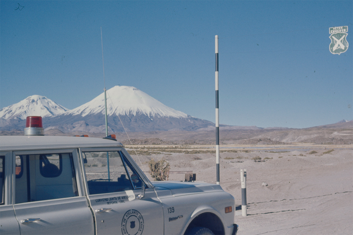 Daniel Sheehy fieldwork in Chile, 1973