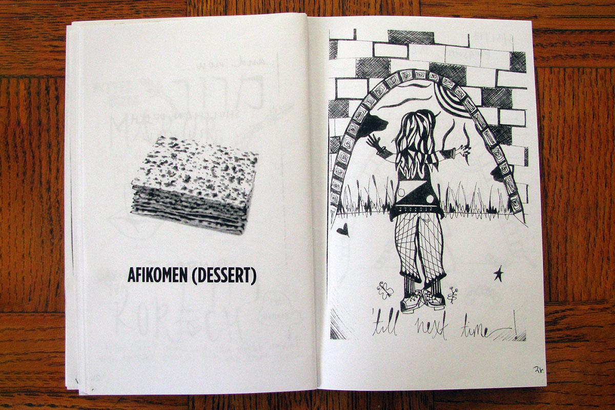 DIY Haggadah by Hilit Jacobson and Jake Ephros