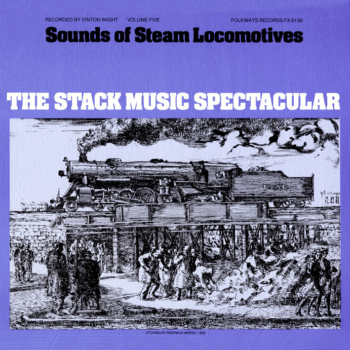 Smithsonian Folkways Recordings train albums