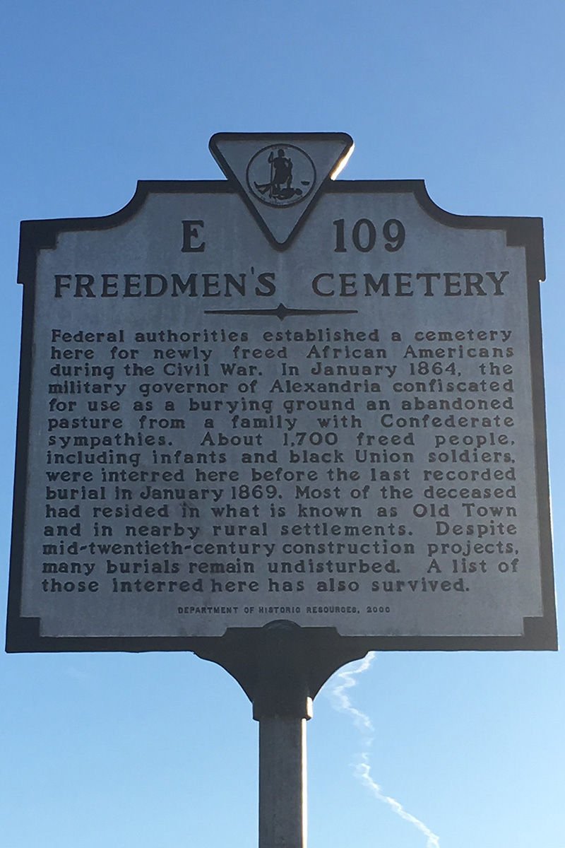 Contrabands and Freedmen»s Cemetery
