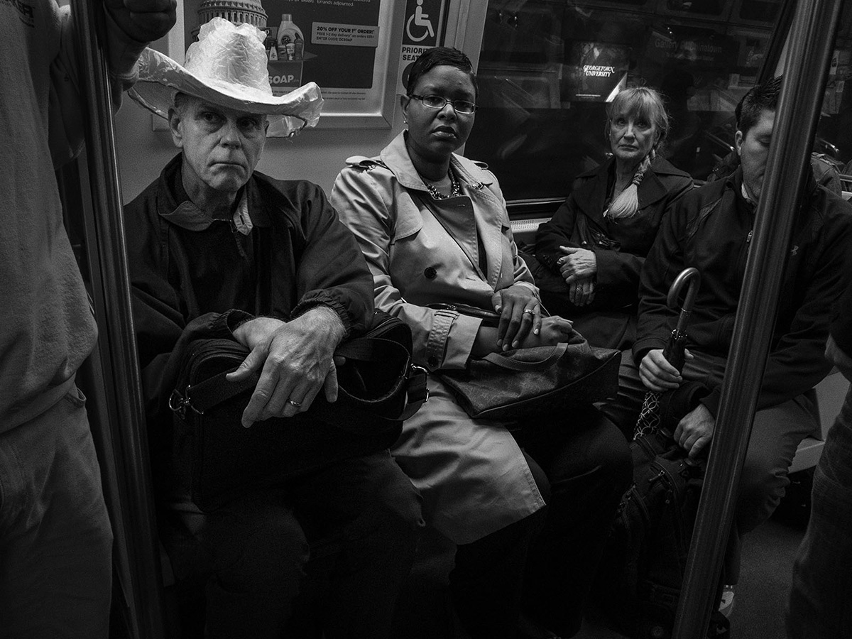 Moments on the Metro: The Photographs of Hugh Talman