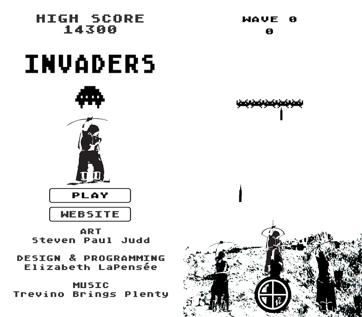 Invaders mobile game