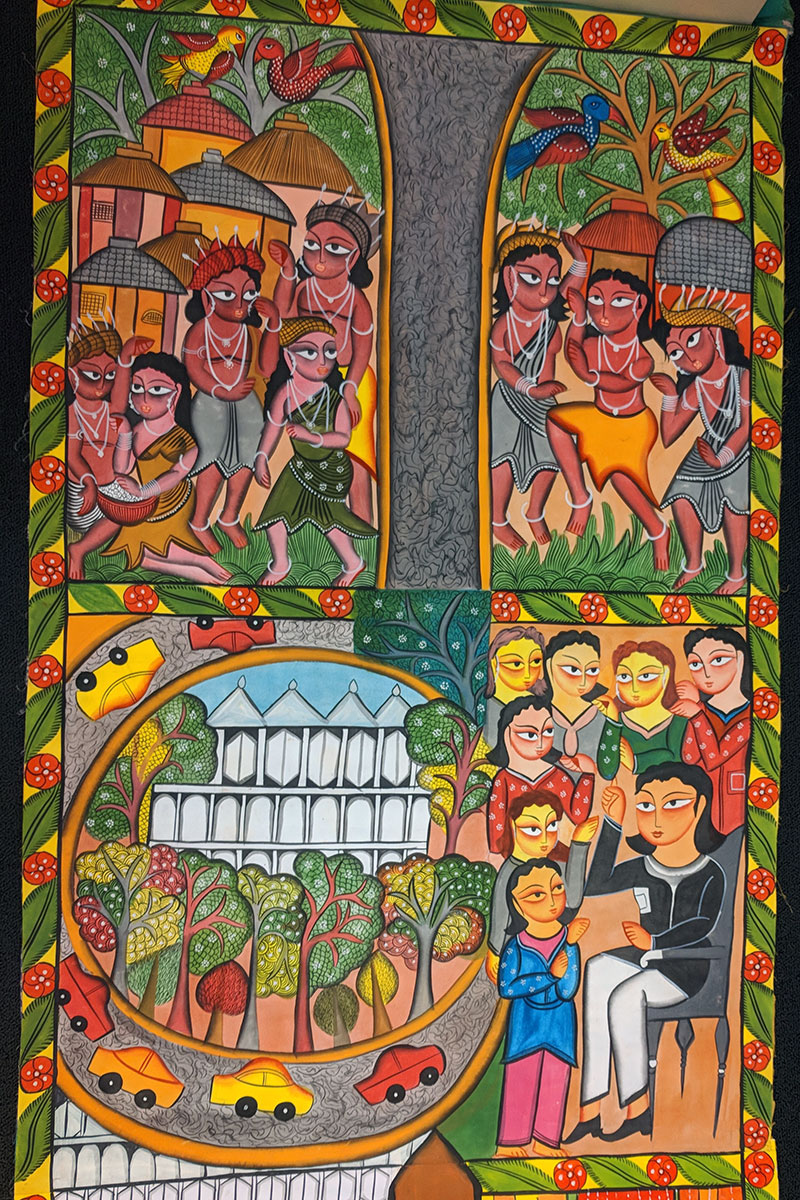 A Bengali Interpretation of American History: The National Mall Patachitra
