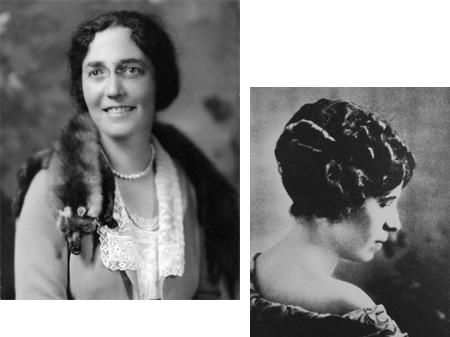 Adelina Otero Warren and Soledad Chávez de Chacón
