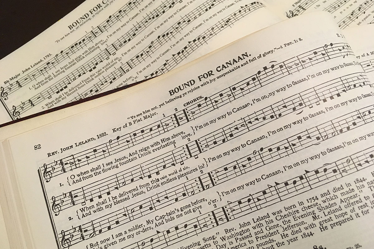 Sacred Harp songbook