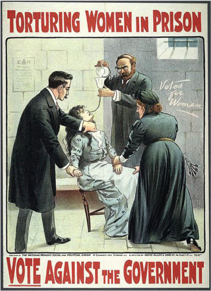LTorturing Women in Prison, Vote Against the Government poster