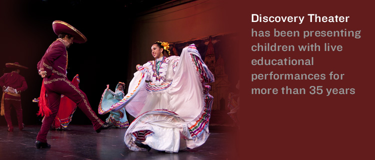 Discovery Theater has been presenting children with live educational performances for more than 35 years
