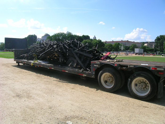 The Puli's size made it impossible to transport. It was disassembled and carted off to be recycled.