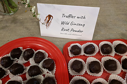 Health & Happiness: Chocolate Ginseng Truffles