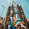 Human towers for democracy at the anniversary of Castellers in Barcelona. Photo by Matthias Oesterle/Demotix/Corbis