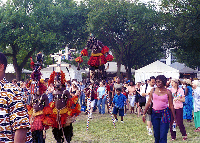 The 2003 Smithsonian Folklife Festival featured the arts and culture of Mali on the National Mall.