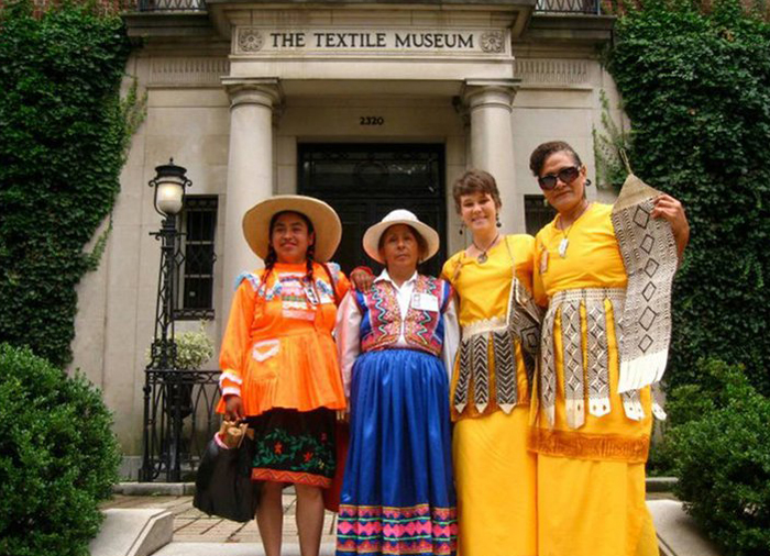 In 2011, I brought Folklife Festival participants from the Peace Corps program to participate in an event at The Textile Museum.