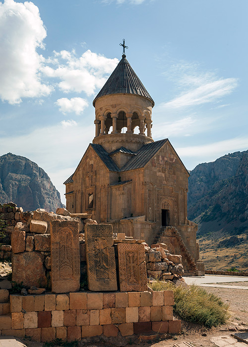 The Noravank Monastery is in Vayots Dzor region near Areni village.