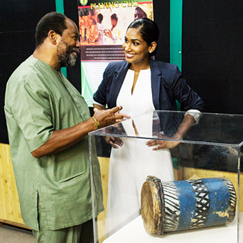 The 'Re-communalization' of a Jamaican Kumina Drum