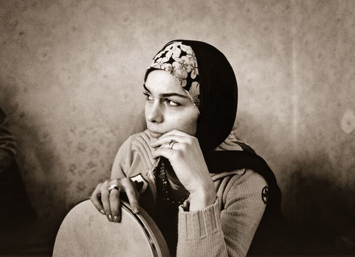 Fargana Qasimova. Photo by Sebastian Schutyser, courtesy of the Aga Khan Music Initiative